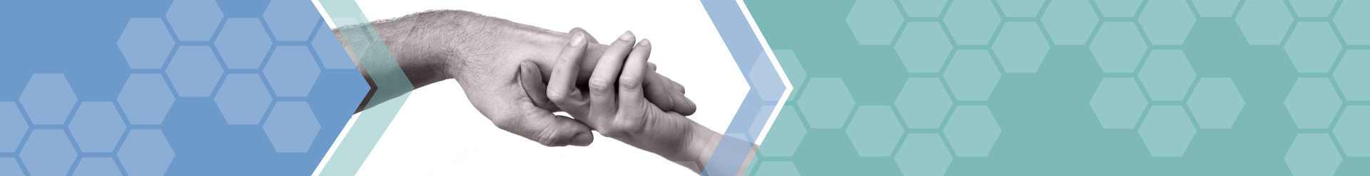 Banner image of two people holding hands